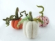 Needle Felted Pumpkins for Fall and Halloween