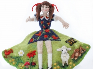 Self-Portrait Flip Doll